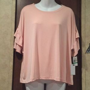 Blouse twilight shadow pink size L